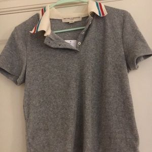 Project Social T Urban Outfitters Collared Croptop